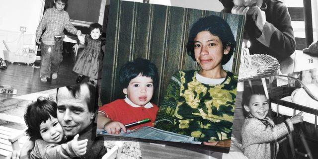 People, Snapshot, Child, Family, Art, Photomontage,