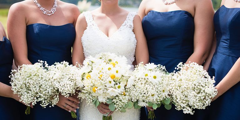 Wedding Trends Come And Go While Others Remain Perennial Favorites For Both Decor Attire Alike A Navy Blue Color Palette