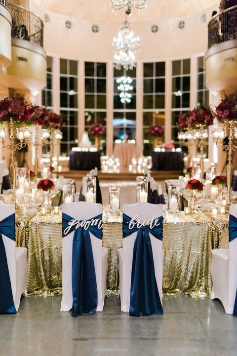 10 Best Navy Blue Wedding Decoration Ideas Wedding Color