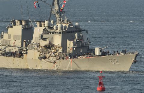 JAPAN-US-PHILIPPINES-NAVY-ACCIDENT-DIPLOMACY