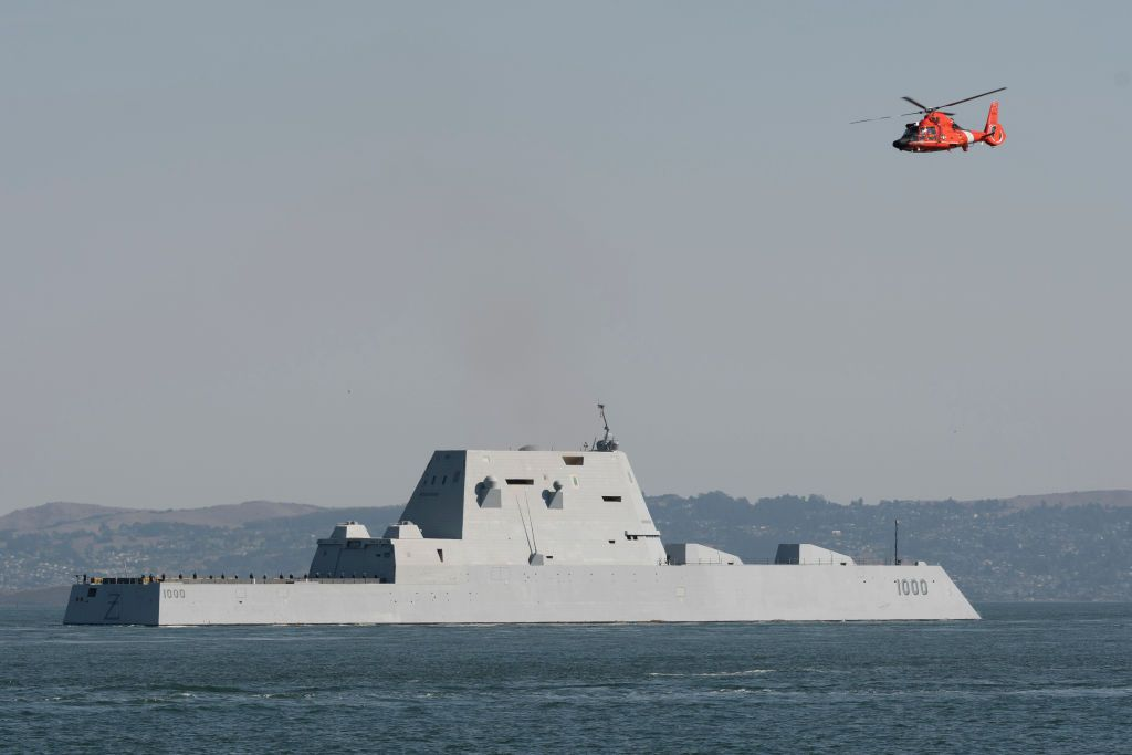 After Nearly 4 Years in Service, the USS Zumwalt Is Almost Ready To Fight