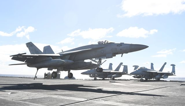 uss ronald reagan takes part in exercise talisman sabre 2017