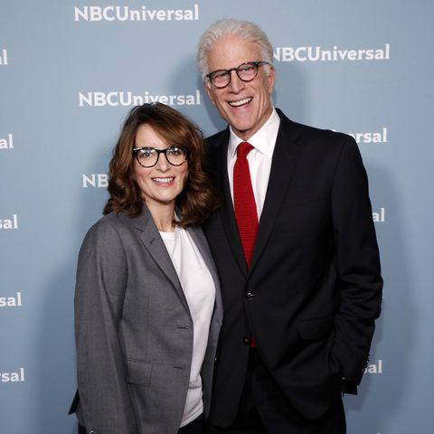 Tina Fey and Ted Danson Are Working Together on a New TV Show