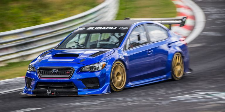Subaru's Bonkers WRX STI Race Car Ran a Sub-7:00 at the Nurburgring