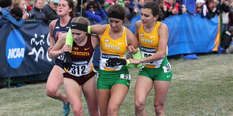 Sportsmanship at 2014 NCAA Cross Country Championships