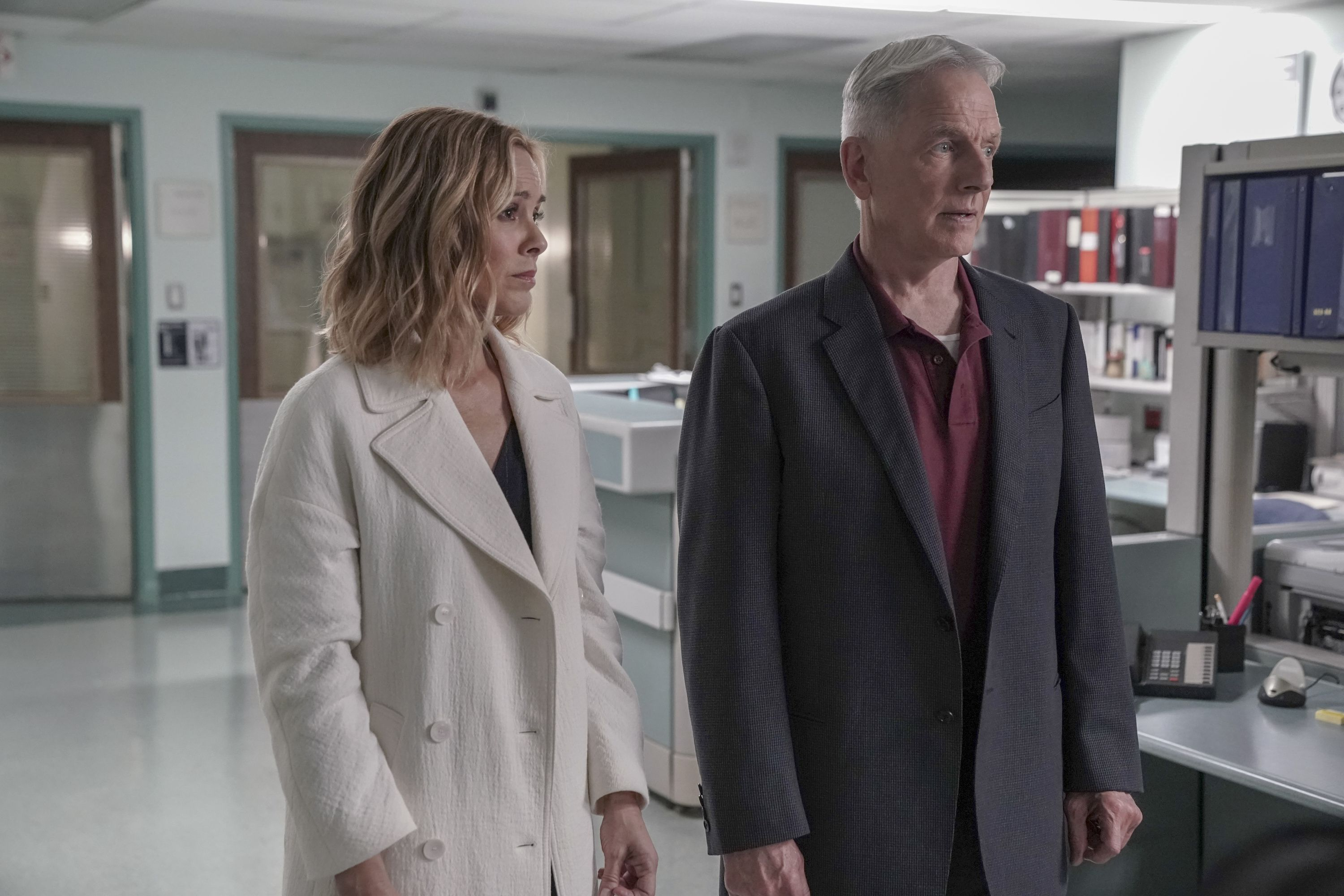 "NCIS star Maria Bello discusses importance of being on ""equal footing"" with co-star Mark Harmon"