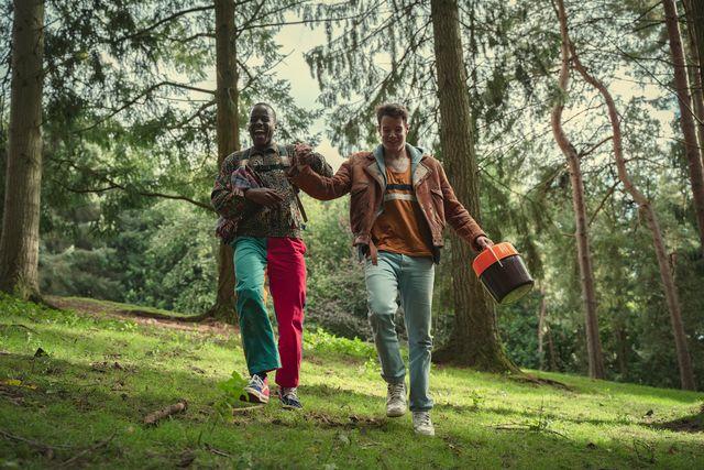 ncuti gatwa as eric, connor swindells as adam, sex educations season 3