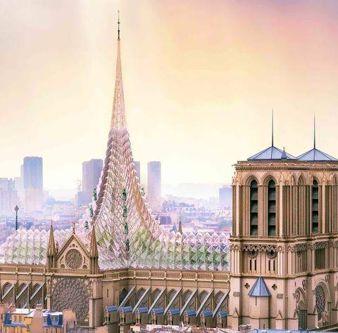 Landmark, Metropolitan area, City, Architecture, Cityscape, Sky, Urban area, Spire, Human settlement, Skyscraper,