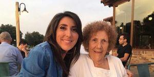 Paz Padilla y su madre