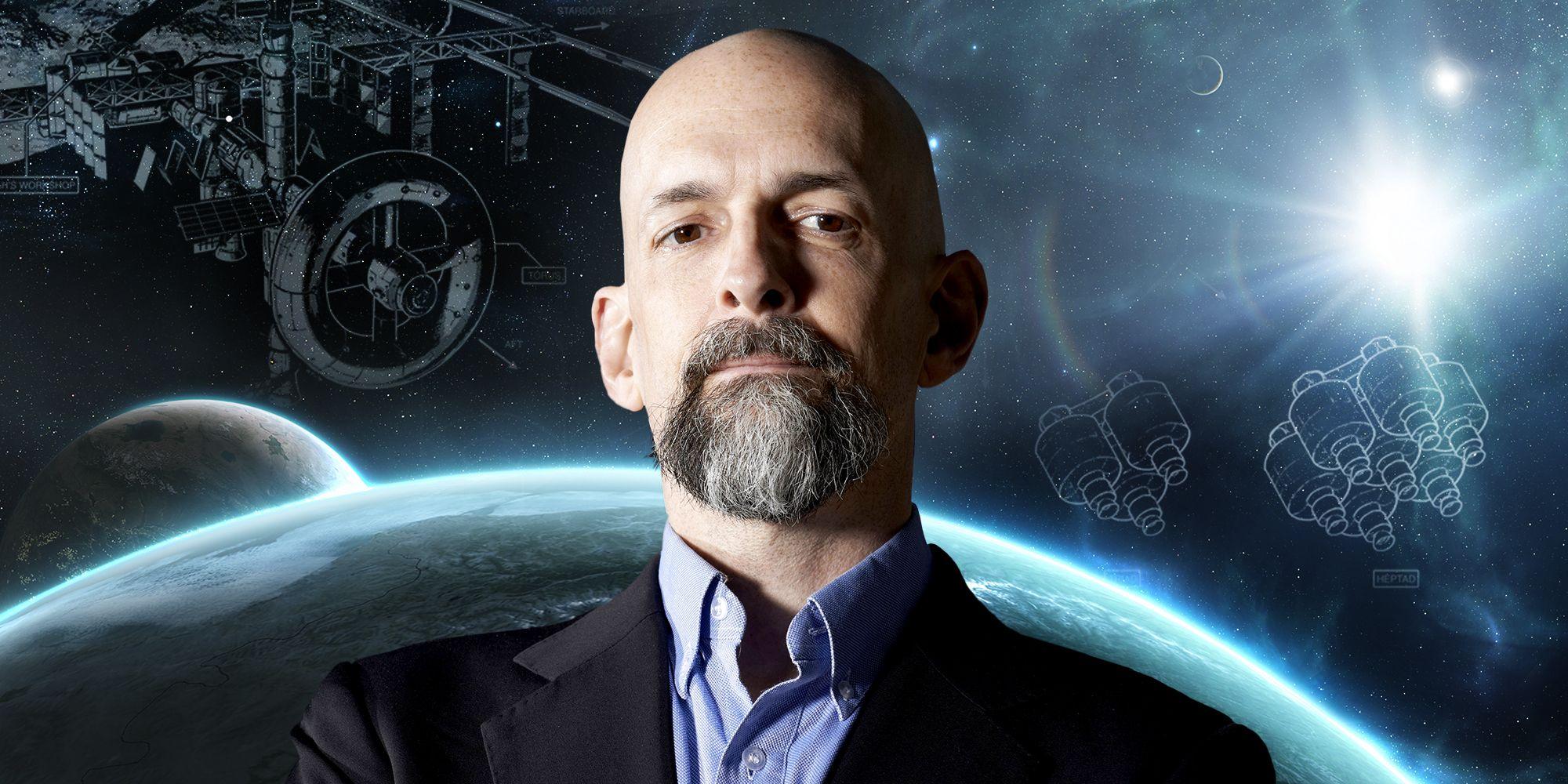 How Neal Stephenson Got Book Ideas by Moonlighting at Blue Origin