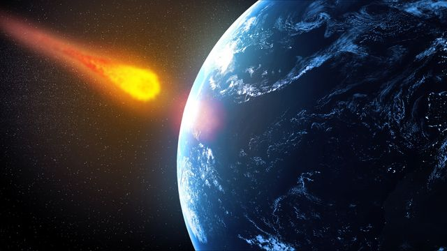 near earth asteroid, artwork