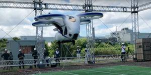 coche volador NEC