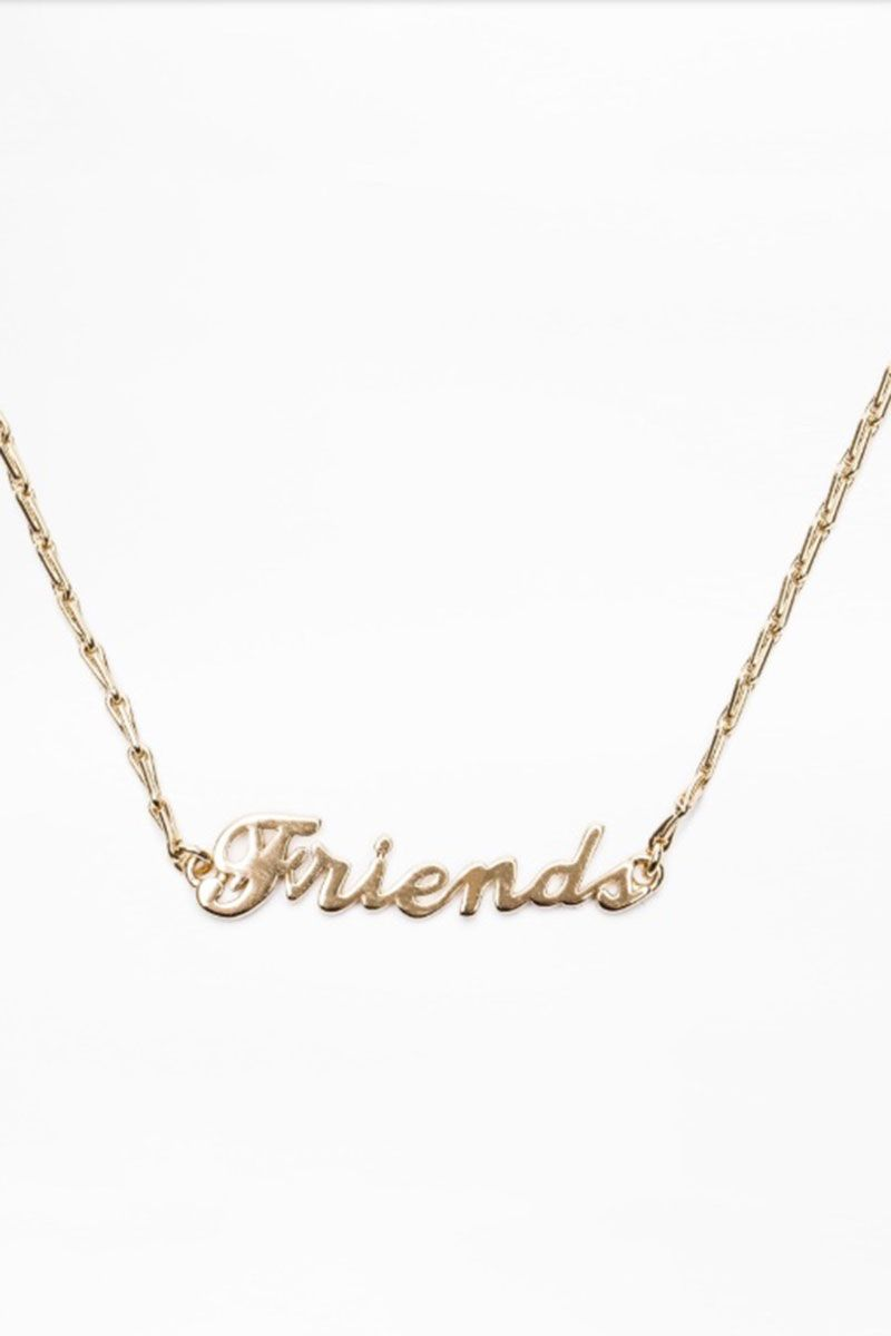 slogan necklace