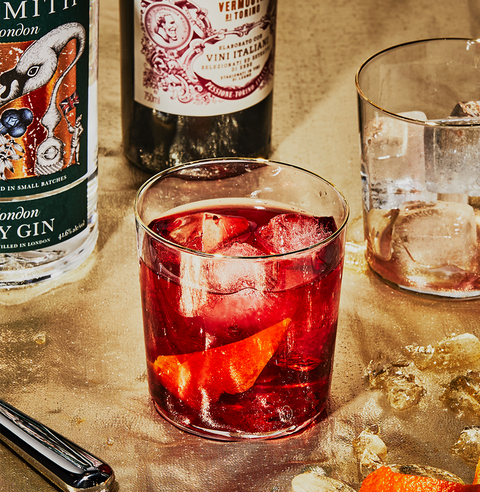 negroni fall cocktail