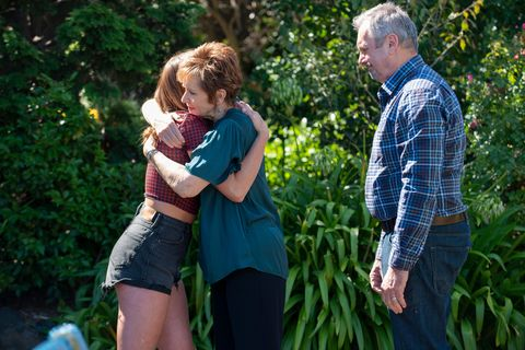 bea nilsson, susan kennedy and karl kennedy in neighbours