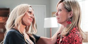 Andrea Somers and Heather Schilling in Neighbours