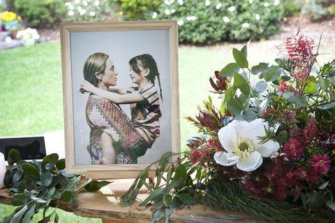Sonya Rebecchi's memorial service in Neighbours