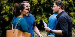 Tension between Shane and Dipi Rebecchi in Neighbours