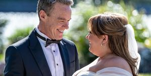 Paul Robinson and Terese Willis in Neighbours