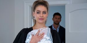 Chloe Brennan gets caught out by Pierce Greyson in Neighbours
