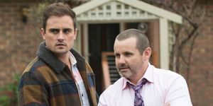 Kyle Canning and Toadie Rebecchi in Neighbours
