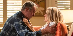 Karl Kennedy with Andrea Somers in Neighbours