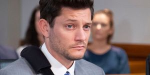 Finn Kelly in court in Neighbours