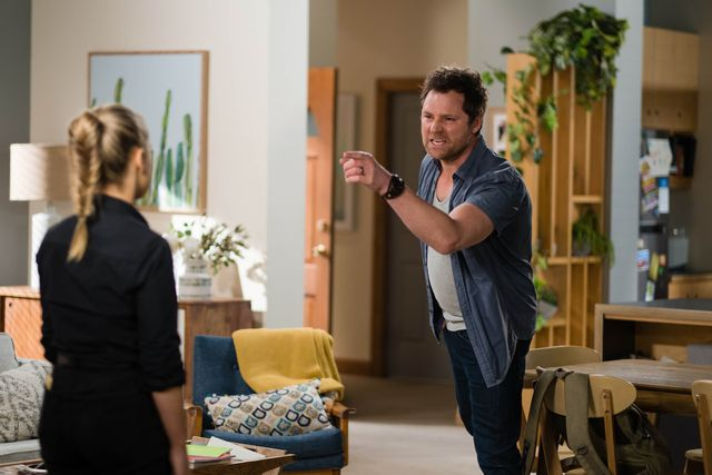 shane rebecchi clashes with roxy willis in neighbours