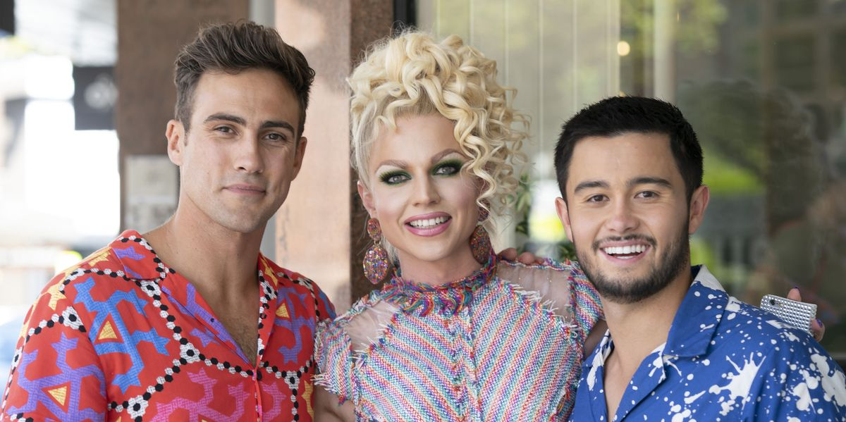 Neighbours to finally air Courtney Act's cameo appearance on February 28