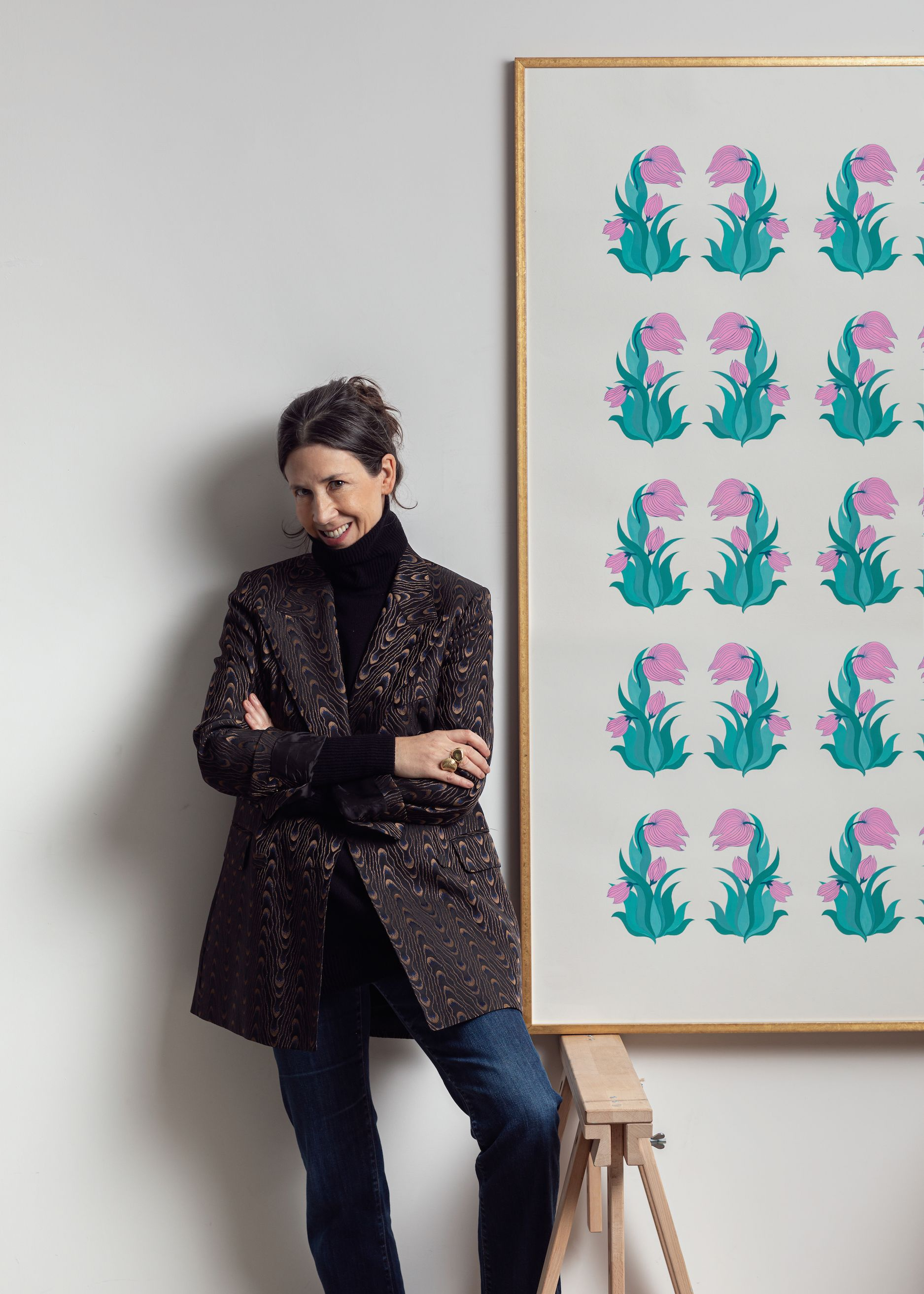 British designer Neisha Crosland's debut artworks go on show