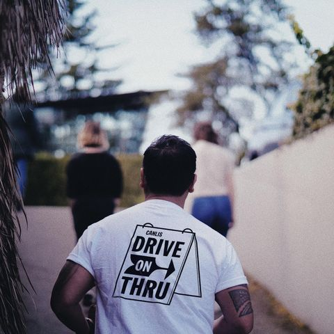 Photograph, Wall, Snapshot, Hairstyle, Tree, Street, Cool, T-shirt, Infrastructure, Photography,