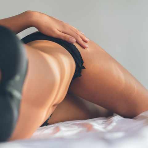 Undergarment, Skin, Clothing, Lingerie, Human leg, Thigh, Leg, Beauty, Close-up, Muscle,