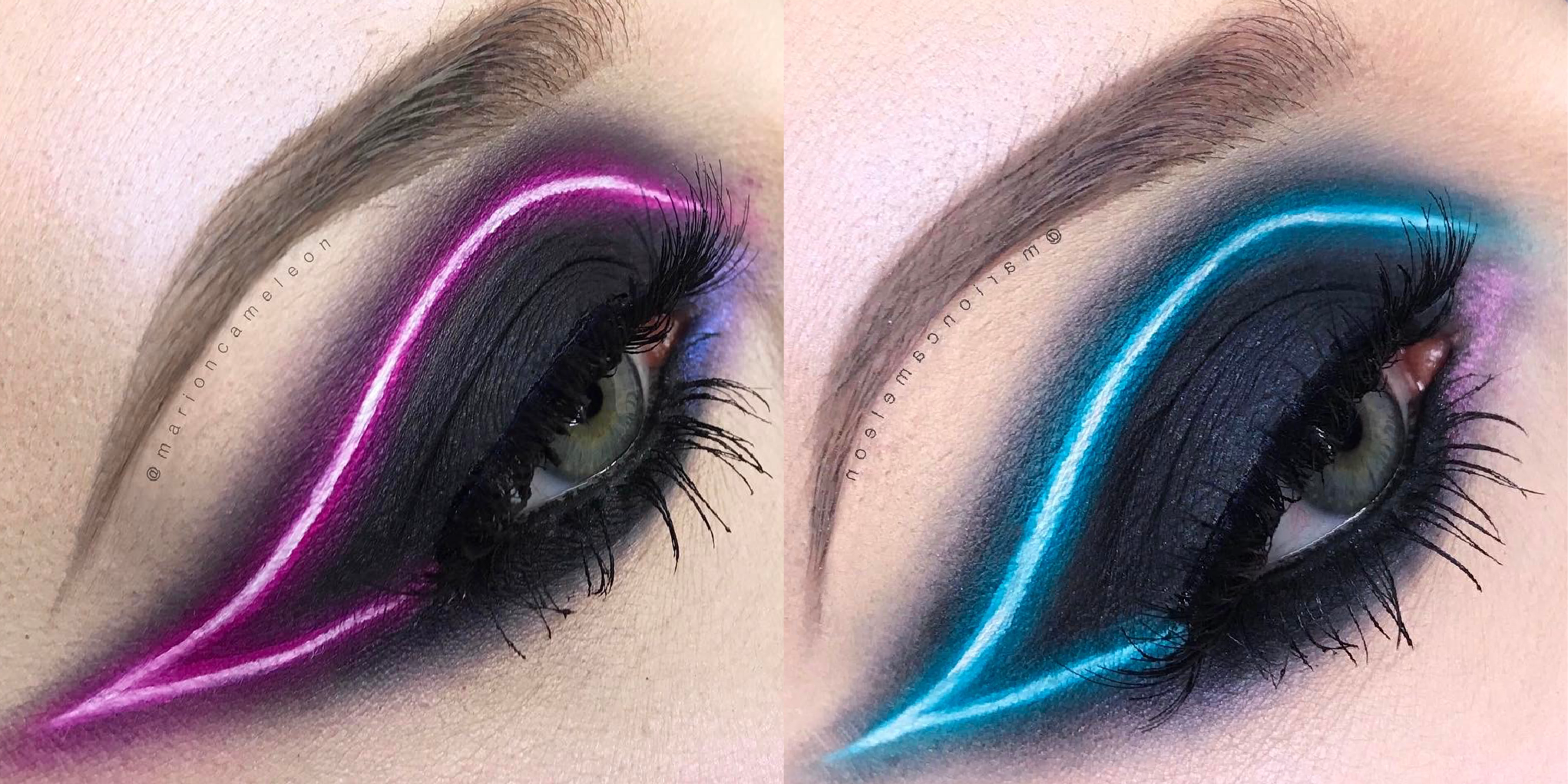 You Need To Try The New Neon Light Makeup Trend