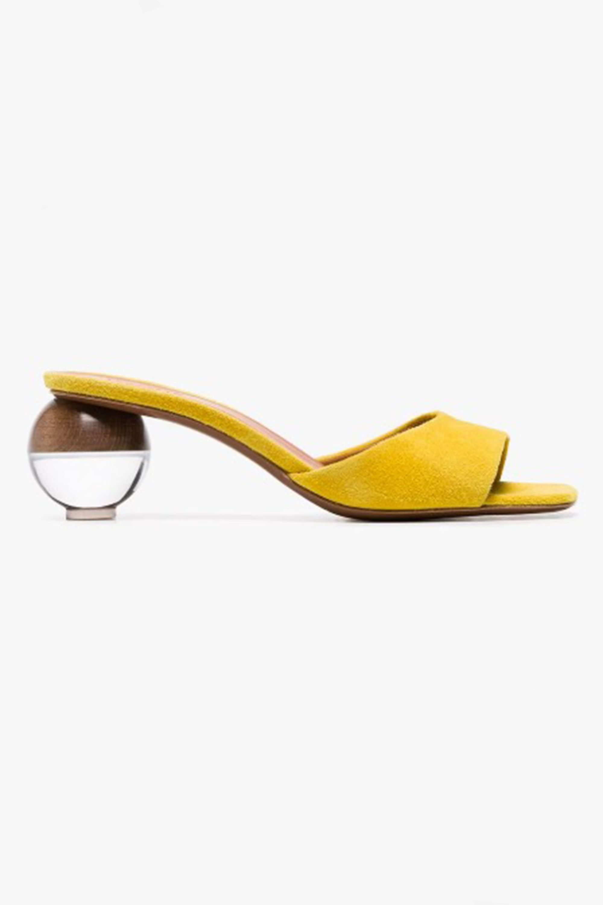 Neous shoe, sculptural heels