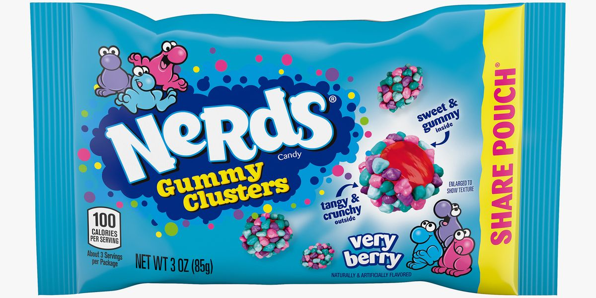 Nerds Gummy Clusters Now Come In A Very Berry Flavor For The Chewy And Crunchy Bites