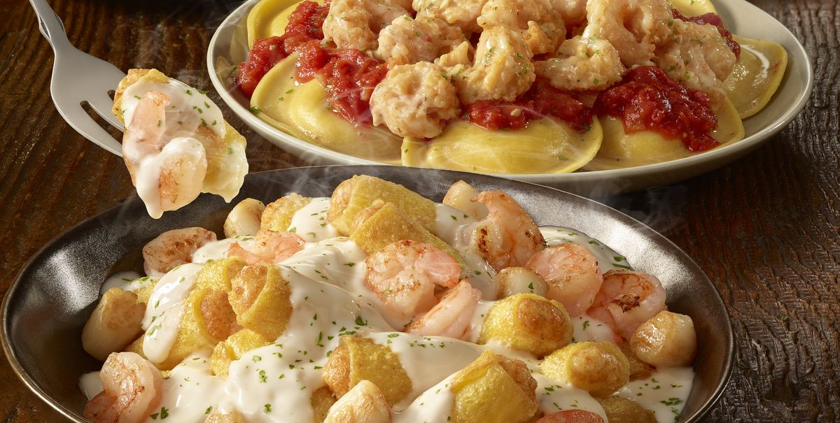 All The Pasta You Can Eat With Olive Garden S Never Ending: Olive Garden Created A Never-Ending Stuffed Pasta Menu