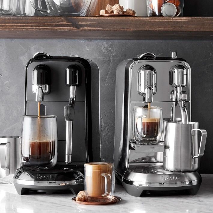 Williams Sonoma Is Having A Crazy Deal On Nespresso Machines For The Rest Of The Year