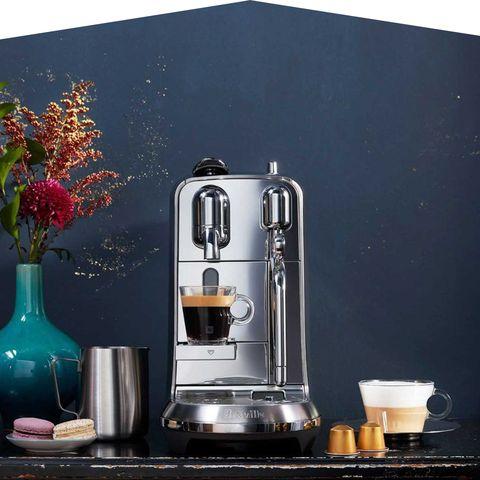Small appliance, Home appliance, Coffeemaker, Espresso machine, Coffee percolator, Kitchen appliance, Barware, Mixer, Juicer, Still life photography,
