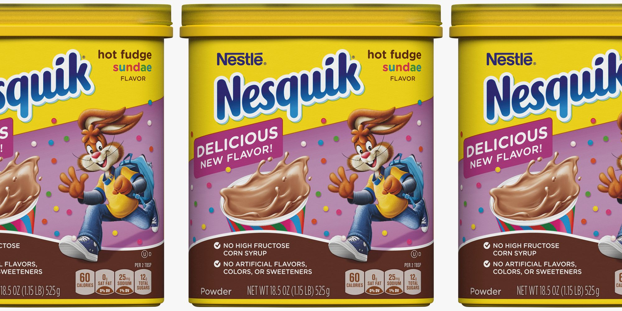 Nesquik's New Hot Fudge Sundae Flavor Just Made Chocolate Milk Even Better