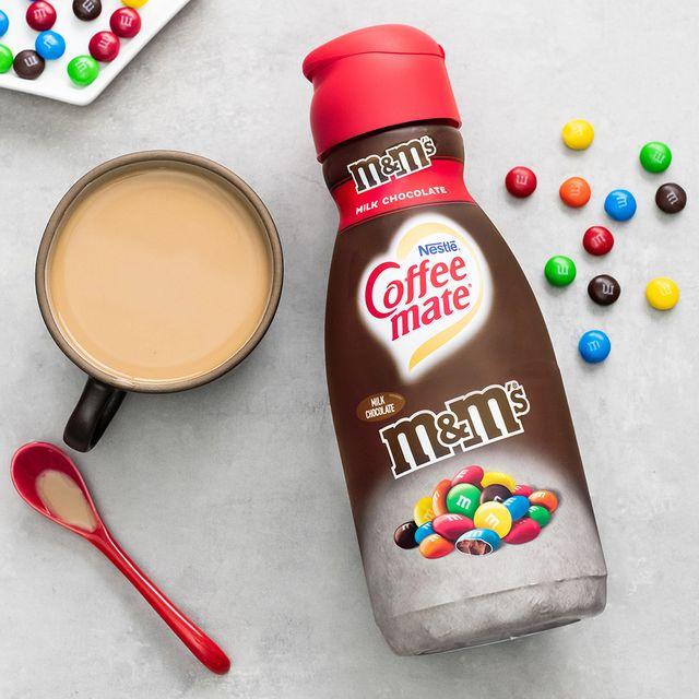 coffee mate mm's milk chocolate creamer