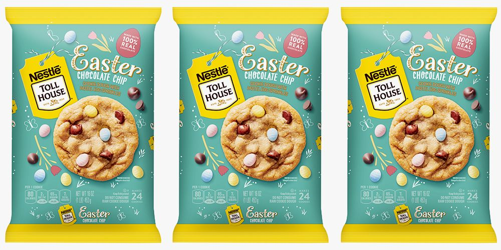Nestlé Toll House Welcomes Easter Chocolate Chip Cookie Dough For Spring