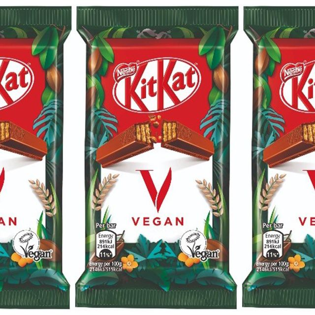 nestlé kit kat vegan chocolate bar