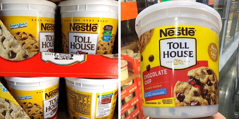 This 5-Pound Bucket of Nestlé Toll House Cookie Dough Will Make Holiday Baking Stress-Free
