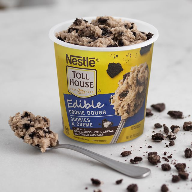 nestle toll house cookies and creme edible cookie dough