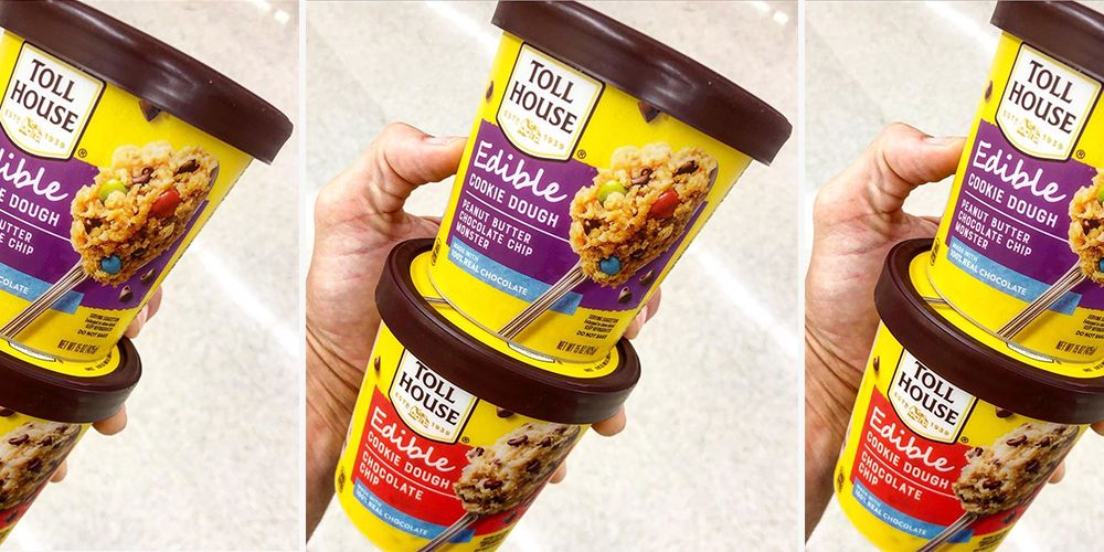Nestl 233 Toll House Is Rolling Out A Line Of Edible Cookie Dough