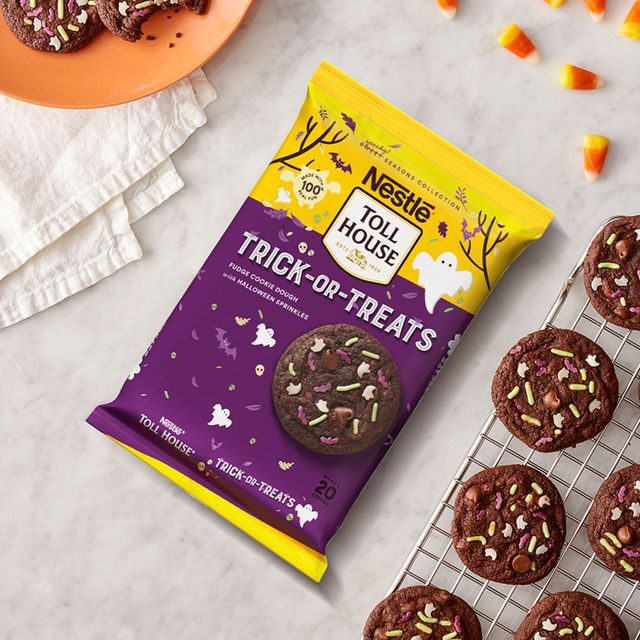 nestle toll house halloween trick or treats cookie dough