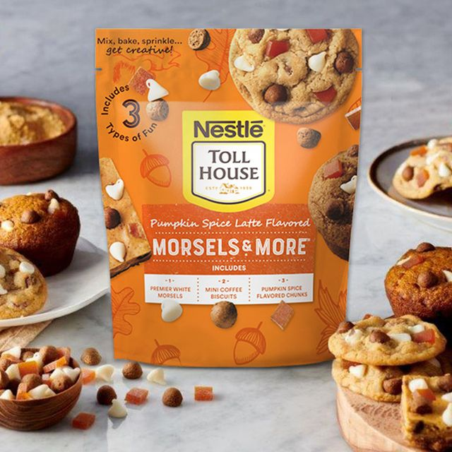 nestle toll house pumpkin spice latte morsels and more