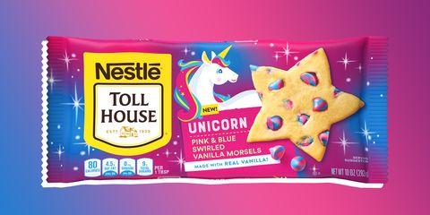 Nestlé toll house unicorn cookies