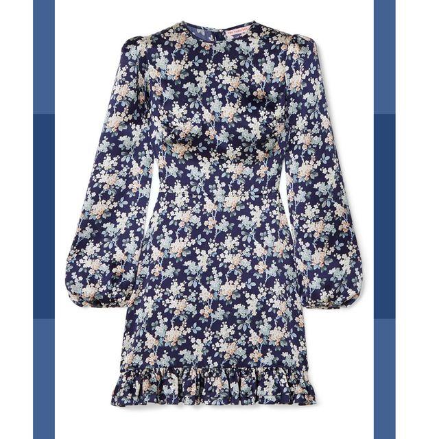 Clothing, Dress, Fashion, Yellow, Outerwear, Pattern, Day dress, Sleeve, Pattern, A-line,