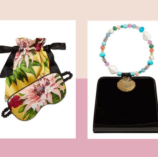 Pink, Bag, Fashion accessory, Handbag, Plant, Brand, Graphic design, Coin purse, Wallet, Rectangle,